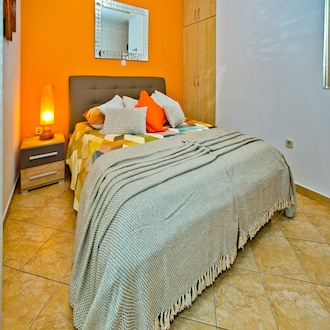 Design Double Room, Orange , Garden View, Balcony ( Mirroring Fire )