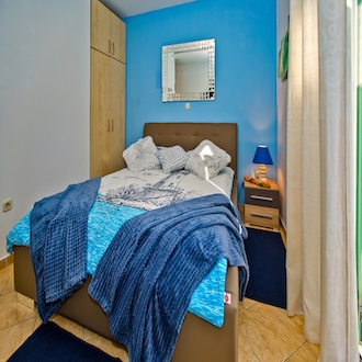 Design Double Room,  Blue, Garden View, Balcony ( Mirroring The Sea )